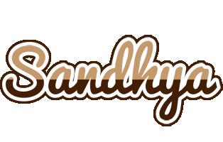 Sandhya exclusive logo