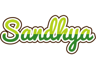 Sandhya golfing logo