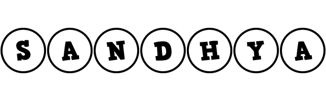 Sandhya handy logo