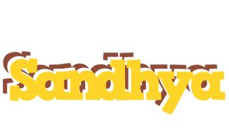 Sandhya hotcup logo