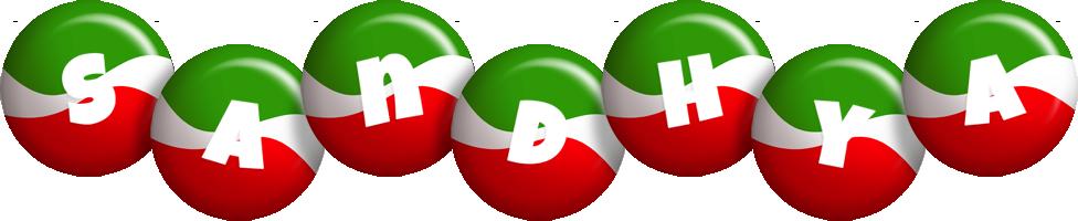 Sandhya italy logo