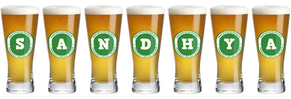 Sandhya lager logo