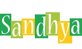 Sandhya lemonade logo