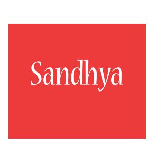 Sandhya love logo
