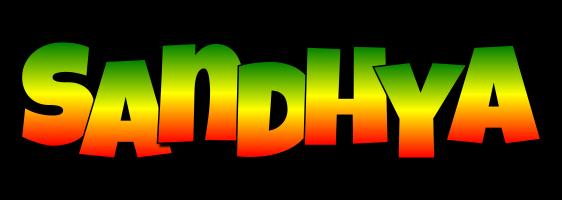 Sandhya mango logo