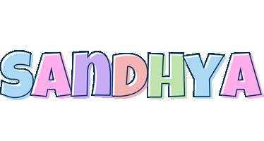 Sandhya pastel logo