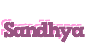 Sandhya relaxing logo