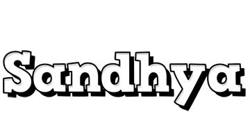 Sandhya snowing logo