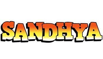 Sandhya sunset logo