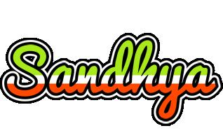 Sandhya superfun logo