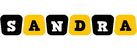 Sandra boots logo