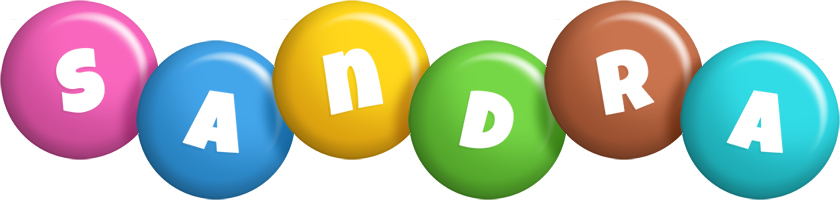 Sandra candy logo