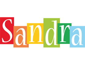 Sandra colors logo