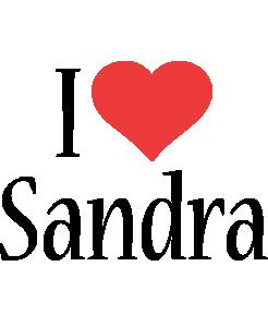 Sandra i-love logo