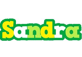 Sandra soccer logo