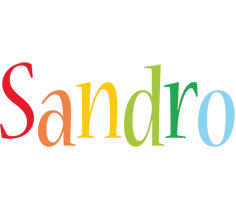 Sandro birthday logo