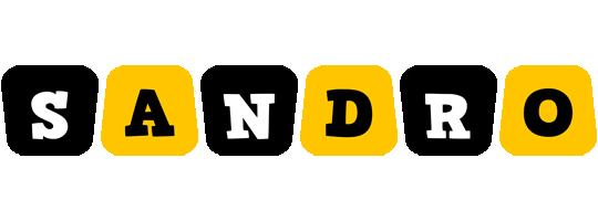 Sandro boots logo