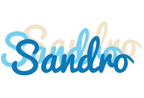 Sandro breeze logo