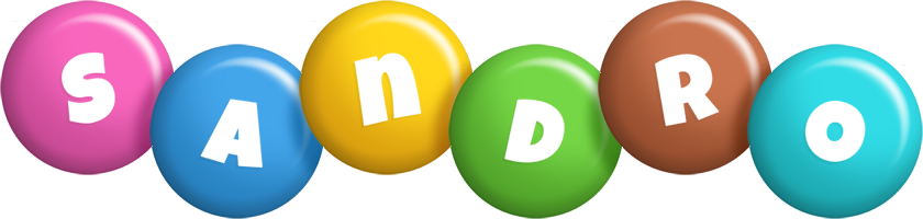 Sandro candy logo