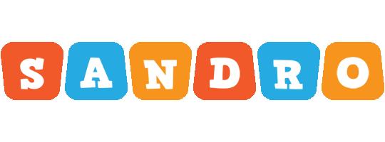 Sandro comics logo