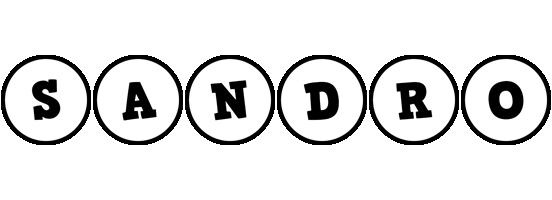 Sandro handy logo