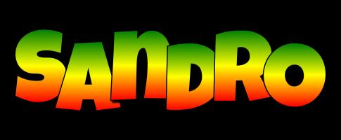 Sandro mango logo