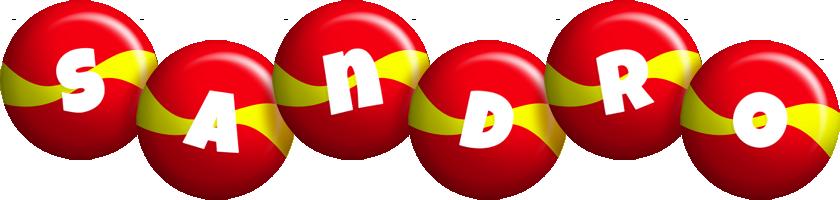 Sandro spain logo
