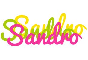Sandro sweets logo