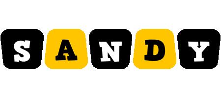 Sandy boots logo