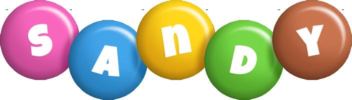 Sandy candy logo