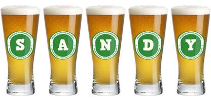 Sandy lager logo