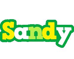 Sandy soccer logo