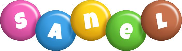 Sanel candy logo
