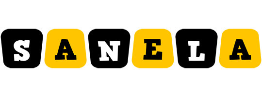 Sanela boots logo