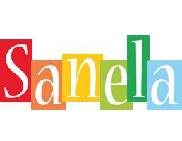 Sanela colors logo
