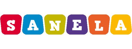 Sanela daycare logo