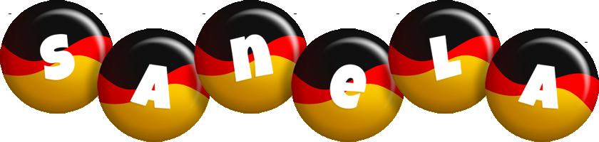 Sanela german logo