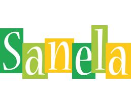 Sanela lemonade logo