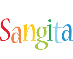 Sangita birthday logo