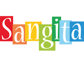 Sangita colors logo