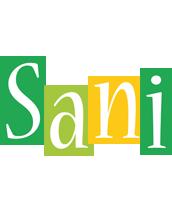 Sani lemonade logo