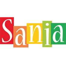 Sania colors logo