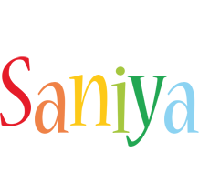 Saniya birthday logo