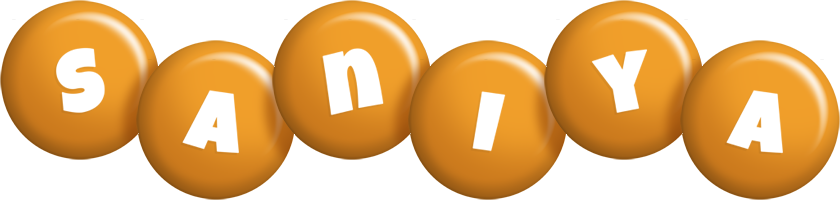 Saniya candy-orange logo