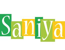 Saniya lemonade logo