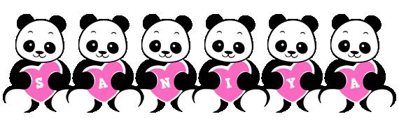 Saniya love-panda logo