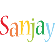 Sanjay birthday logo