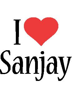 Sanjay i-love logo
