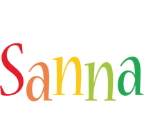 Sanna birthday logo
