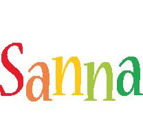 Sanna birthday logo